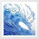 Blue Wave by sirenarts