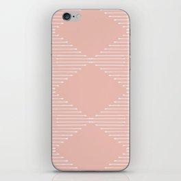 Geo / Blush iPhone Skin