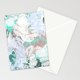 Trendy leaves Stationery Cards