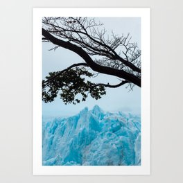 Blue Mountain Art Print