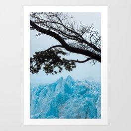 Blue Mountain Art Print