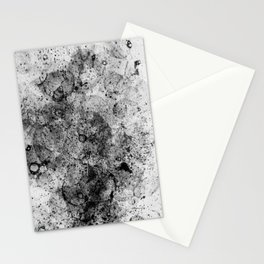 Abstract Artwork Greyscale #3 Stationery Cards