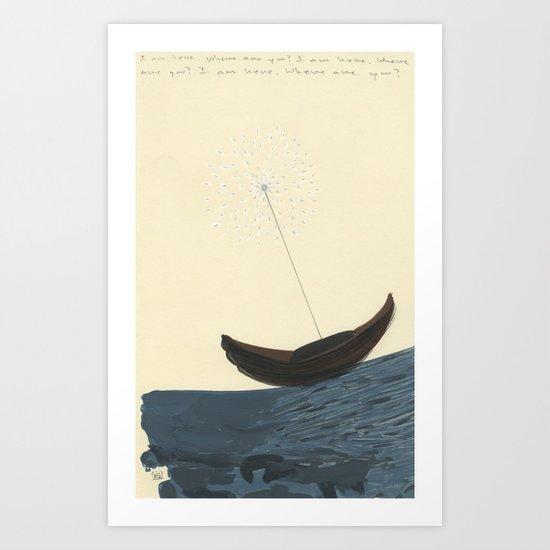Magnetic North Art Print