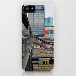 Lille train station iPhone Case