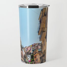 Vibrant Manarola Travel Mug