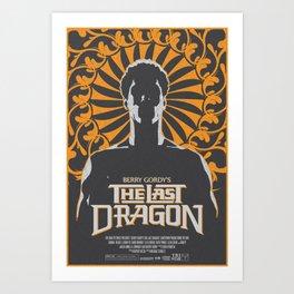 The Last Dragon Art Print