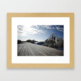 airboat Framed Art Print