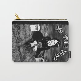 """Wednesday Addams- """"You Wanna Play?"""" Carry-All Pouch"""