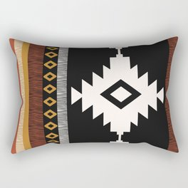 Pueblo in Sienna Rectangular Pillow