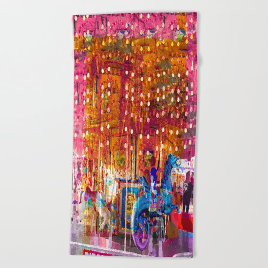 Today We Ride Angry Sea Dragons For Three Tickets Beach Towel
