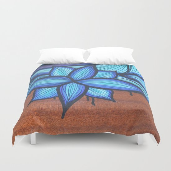 Guitar Art Duvet Cover