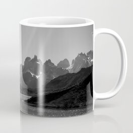 Patagonia Black and White Coffee Mug