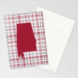 Bama alabama crimson tide gifts for university of alabama students and alumni Stationery Cards