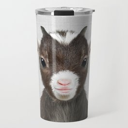 Baby Goat - Colorful Travel Mug