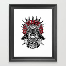 The Ghost of Hideyoshi Framed Art Print