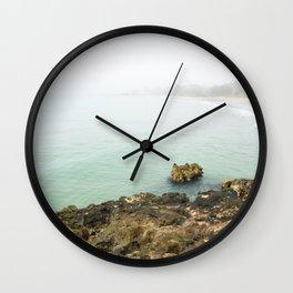 Bay of Pigs Playa Larga Cuba Caribbean Sea Ocean Beach Geology Limestone Tropical Island Fog Mist Ne Wall Clock
