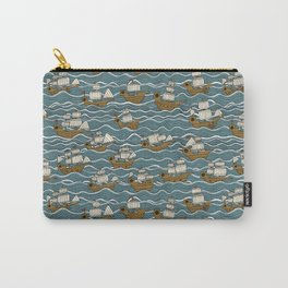 Nautical but nice. Carry-All Pouch