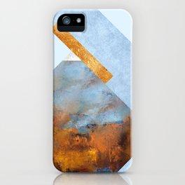 Modern Mountain No5-P1 iPhone Case