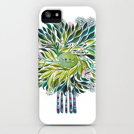 Poofy Asparagus iPhone Case