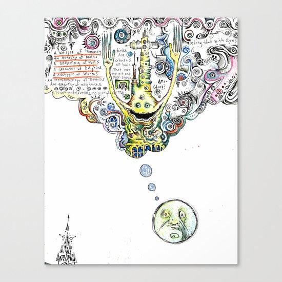 HMMM!?!?!? Canvas Print