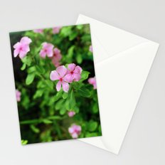 (piink)x(flowers) Stationery Cards
