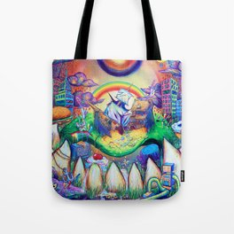 buried treasure Tote Bag