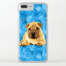 Shar-Pei puppy Clear iPhone Case