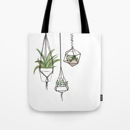 Hanging Plants Tote Bag