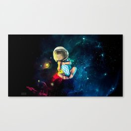 Baby Astronaut Canvas Print