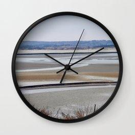 Landscape La Canche, Wall Clock