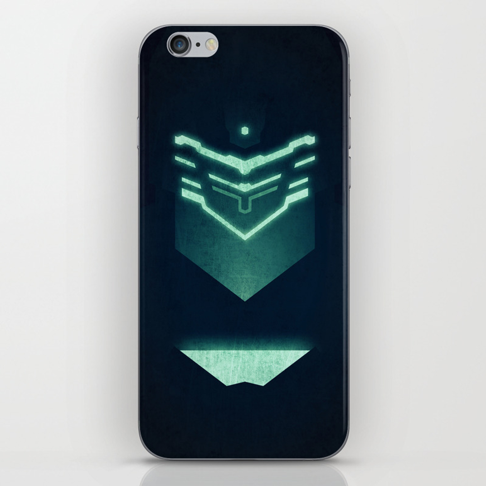 Isaac Clark / Dead Space Iphone & Ipod Skin by Maximnikitin PSK899665