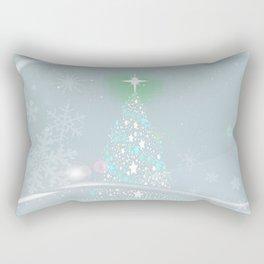 Cold Christmas Rectangular Pillow