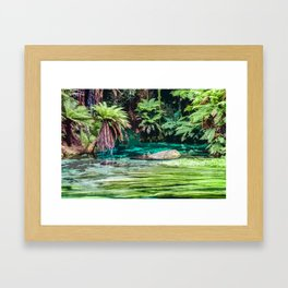 Hidden Sanctuary Framed Art Print