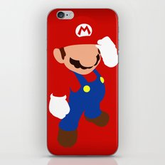 The world famous plumber (Mario) iPhone & iPod Skin