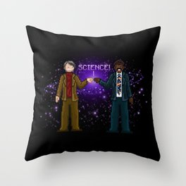 Ode to The Cosmos Throw Pillow