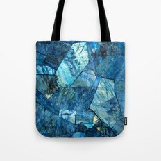 Labradorite Blue Tote Bag