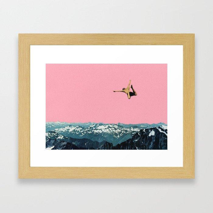 Higher Than Mountains Framed Art Print