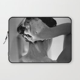 Woman Showering, 35mm Film, B&W Laptop Sleeve