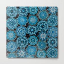 blue gems Metal Print