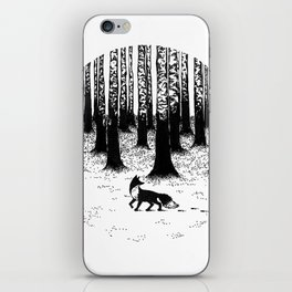 Snow Fox iPhone Skin