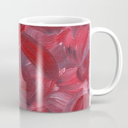 Red Petals Coffee Mug