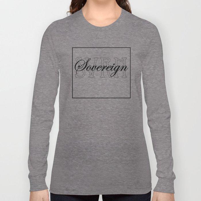 Sovereign: Type  Long Sleeve T-shirt