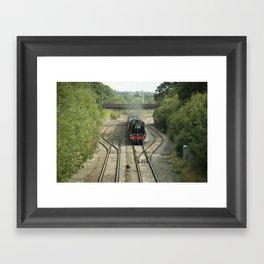 Royal Scot at Tiverton Junction Framed Art Print