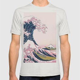 The Great Pink Wave off Kanagawa T-shirt