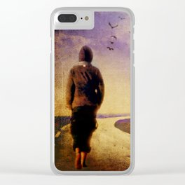 Between Mind & Heart Clear iPhone Case