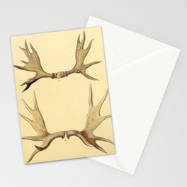Antique Antlers Stationery Cards