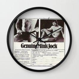 Mink Jock Wall Clock