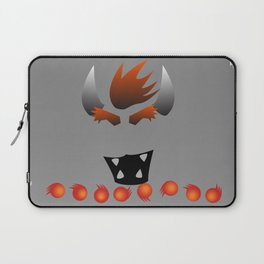 Minimalist Bowser Laptop Sleeve