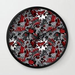 Roller Derby Slam Wall Clock