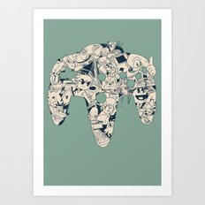 Grown Up Art Print